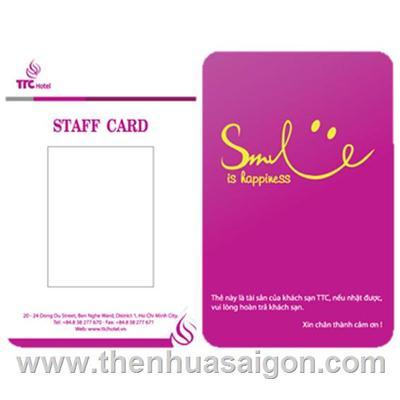 Thẻ Cảm Ứng In Proximity 125KHZ