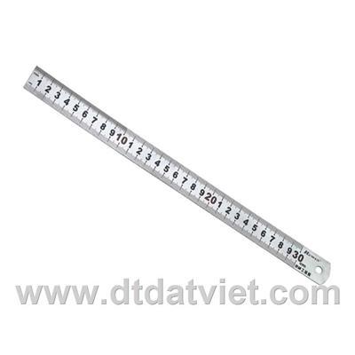 Thước nhôm Deli 6211 18cm