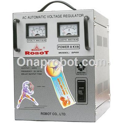 Ổn áp ROBOT 1 pha 8KVA 140V-240V SP09