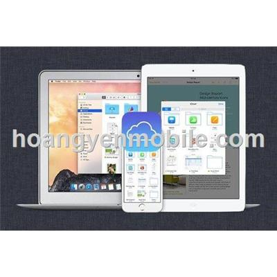 Gở bỏ icloud cho iphone ipad apple watch
