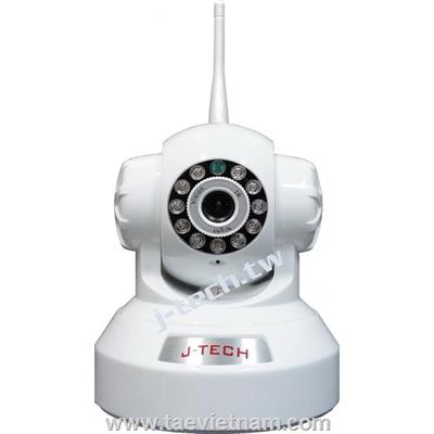 CAMERA IP J-TECH JT-HD4110W (1280X720P, WIFI, ÂM THANH, XOAY)