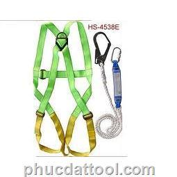 Dây đai an toàn toàn thân, có móc giảm sốc - Safety belt all body