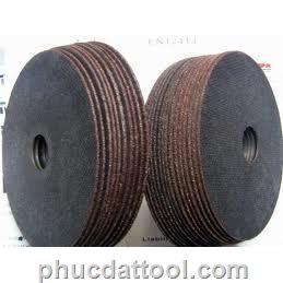 cutting wheel OD75mm x T1.6mm-đá cắt 75x1.6 , grinding wheel OD75mm x 3.0mm,đá mài 75 x 3