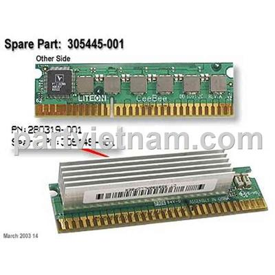 HP DL360 G3 VRM280319-001 305445-001