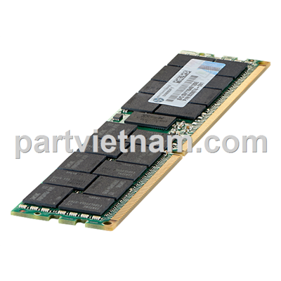 HP 16GB (1x16GB) Dual Rank x4 PC3-14900R (DDR3-1866) Registered CAS-13 Memory Kit