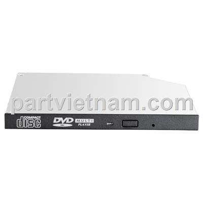 HP 9.5mm SATA DVD-ROM JackBlack Optical Drive