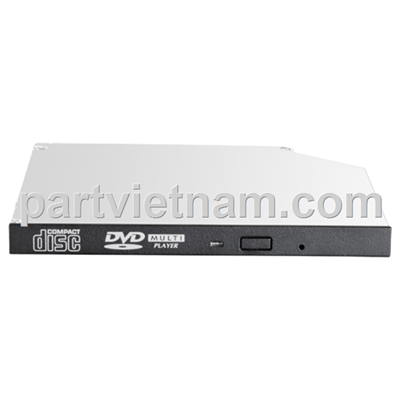 HP 9.5mm SATA DVD-ROM JackBlack Gen9 Optical Drive