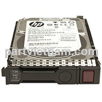 HP 1TB 6G SAS 7.2K rpm SFF (2.5-inch) SC Midline 1yr Warranty Hard Drive
