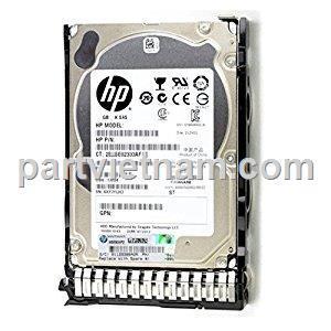 HP 2TB 12G SAS 7.2K 2.5in 512e SC HDD