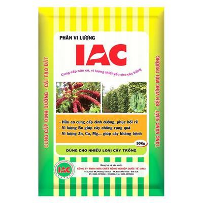 Phân hữu cơ vi lượng IAC