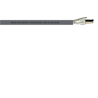 Benka Instrument cable for BMS, PA, FA  Benka Instrument cable for BMS, PA, FA