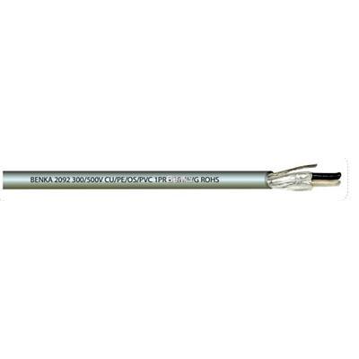 Cáp tín hiệu chống nhiễu Benka 1x2x18 AWG, 1x2x16 AWG, 2x2x18 AWG, p/n 1771218, 1771216... - cáp Benka cable
