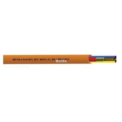 Cáp chống cháy chống nhiễu Benka (950oC trong vòng 3h), lõi đồng mạ thiếc chống oxy hóa- cáp Benka cable  Cap chong chay chong nhieu Benka (950oC trong vong 3h), loi dong ma thiec chong oxy hoa- cap Benka cable