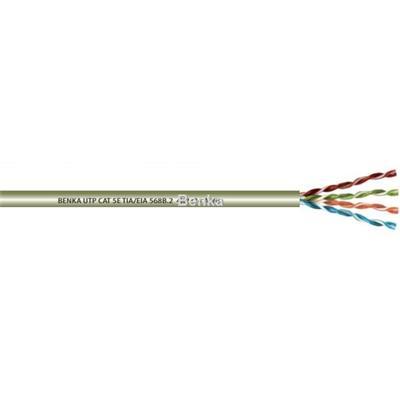 Cáp mạng Benka cat 5e UTP 4x2x24 AWG, cat 6 UTP 4x2x23 AWG, chứng nhận UL của Mỹ, p/n 3134224C5E, 3134223C6... - cáp Benka cable