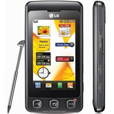 LG KP500 Cookie Black