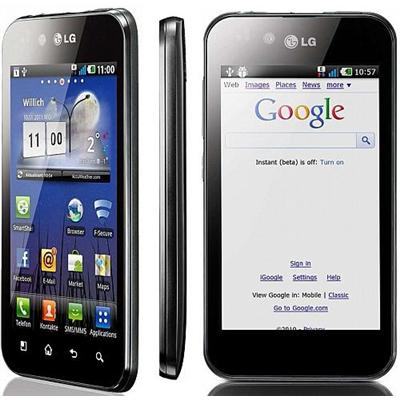LG Optimus P970 Black , White