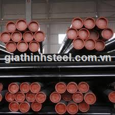 Thép ống đúc tiêu chuẩn SCH40, SCH60, SCH80 phi 140, phi 168, phi 219, phi 273, phi 323, phi 406, phi 508