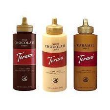 Torani Sauce CHOCOLATE - 468 gr