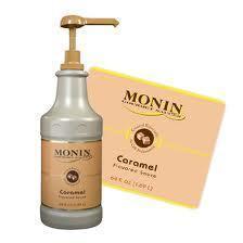 MONIN sauce caramel 1.9 kg