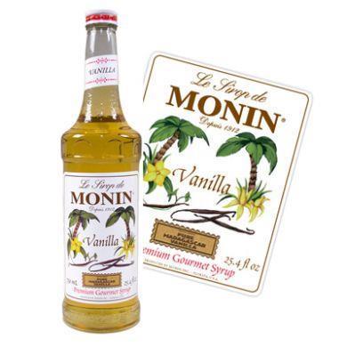 MONIN Syrup Vanila 70 cl