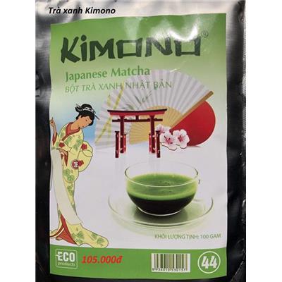 Bột tra xanh Matcha - Kimono