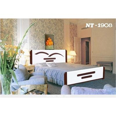 Giường sắt giả gỗ NT 1908