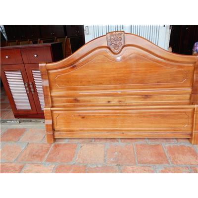 Giường gỗ tự nhiên VN-G107  Giuong go tu nhien VN-G107