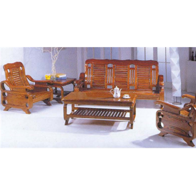 Bộ bàn Sofa gỗ xoan đào SVN0153