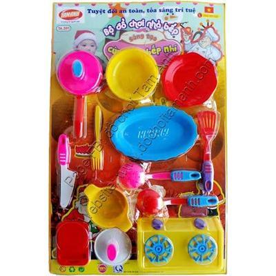 Đồ chơi trẻ em an toàn sáng tạo cùng đầu bếp nhí