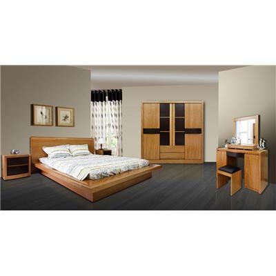 Set phòng ngủ kiểu Nhật hiện đại  Set phong ngu kieu Nhat hien dai