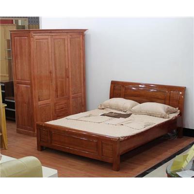 Giường gỗ tự nhiên VN-G017