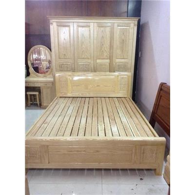 Giường gỗ tự nhiên VN-G019  Giuong go tu nhien VN-G019