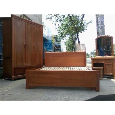 Giường gỗ tự nhiên VN-G020