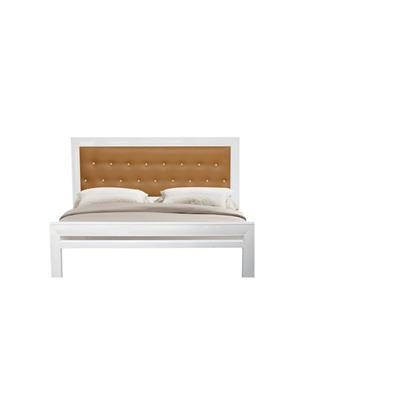 Giường sắt giả gỗ kiểu mới NT2016