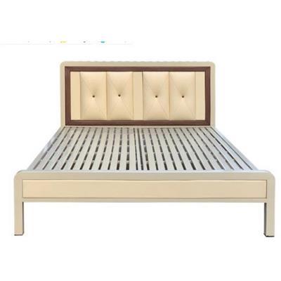 Giường sắt giả gỗ NT2021-1