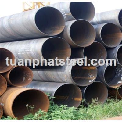 Ống thép hàn xoắn nhập khẩu / Spiral welded steel pipe imports - ong thep