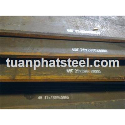 Thép tấm 65Mn, 65G (Plate steel 65G)
