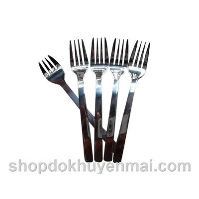 Set 5 nĩa inox Happy Cook