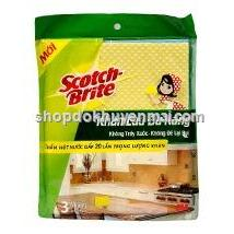Khn lau a nng Scotch - Brite 180mm x 150mm thng hiu M