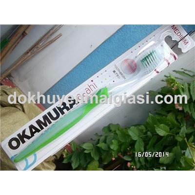 Bàn chải đánh răng Okamura (Nhật) siêu mềm dành cho người lớn