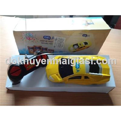 Màu vàng: Xe điều khiển Enfa kiểu dáng Lamborghini - Tặng pin