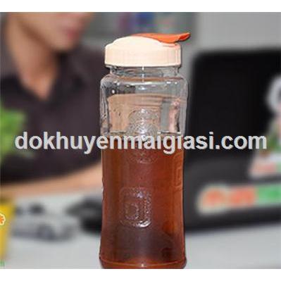Bình nước nhựa Matsu nắp bật 700ml