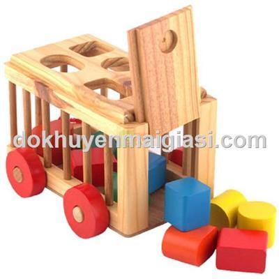 Xe cũi gỗ thả hình Winwintoys Friso tặng