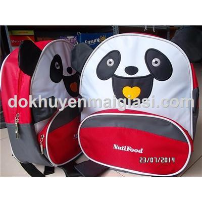 Balo hình thú Nuti cho bé - 34.5 x 30 x 15 cm - Gấu Panda