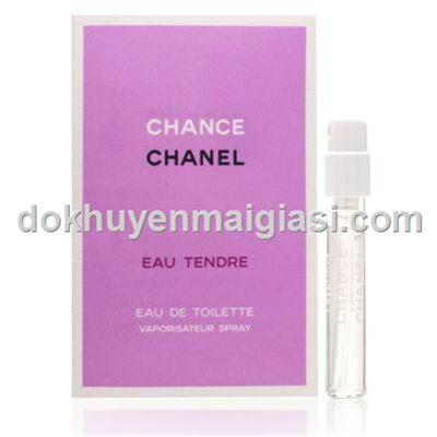 Nước hoa Chanel Chance Vial 2ml cho nữ dạng xịt - Made in France, bao xài đến hết
