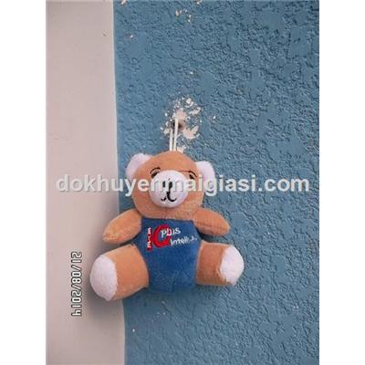 Gấu bông Abbott treo móc khóa, balo, túi xách