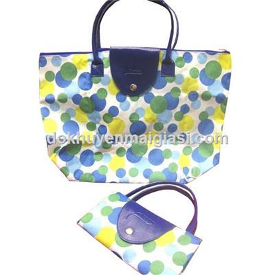 Túi xách Dumex xếp gọn, chống ướt - Kích thước (cm): 44 x 31.5 x 15.5