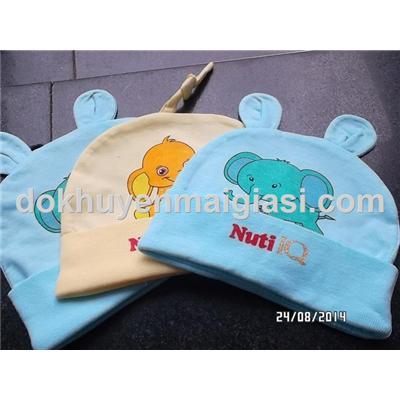 Bộ 3 nón Nuti cho bé sơ sinh