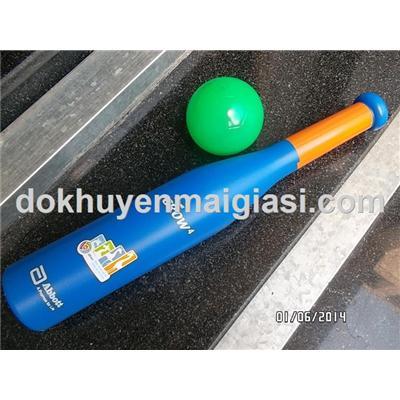Bộ bóng chày 1 chày nhựa + 1 banh nhựa Abbott