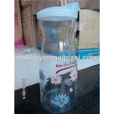 Bình thuỷ tinh cao cấp The Glass 920ml của Hàn Quốc